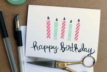 Birthday card idea