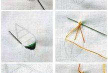 needle stiches