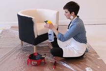 A Chair Makeovers-Paint / Paint Chairs