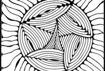 Zendoodle/Mandala/ ... / Patterns to color