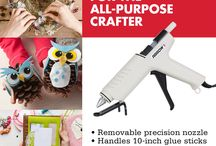Arrow's Glue Guns / Glue guns that are easy to use and are as versatile as you are. #MadeWithArrow