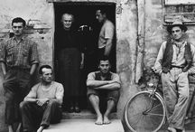 «Un Paese: Portrait of an Italian Village» by Paul Strand / Documentary project of an American photographer Paul Strand. Taken in an Italian village Luzzara in 1953.