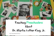 Celebrating Dr. Martin Luther King, Jr.  / Activities to teach children in Pre-K to 3rd grade about the great peacemaker, Dr. Martin Luther King, Jr.  / by Mama Knows It All
