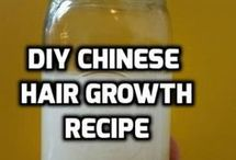 Ricewater for hair