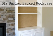 burlap furniture / by burlap projects