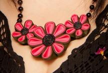 ожерелье канзаши