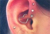 Piercings de ouvido