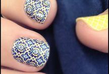 Nails / Jamberry nails mostly / by Jennica Kettle