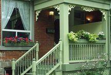 Porch & Balkony / szép balkonok, tornácok, teraszok