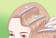 1930-1940 Vintage hair