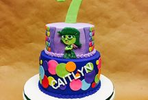 Inside out cakes