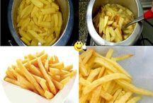 batata frita na pressao
