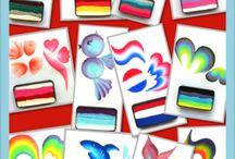 Schminken Funstrokes en Splitcakes