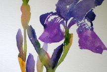 Watercolors  (Flowers and others)