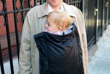 COLDSNAP coat-extension baby cover / COLDSNAP keeps baby and you warm and dry.