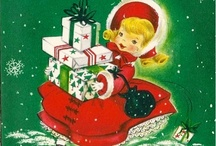 Art-Christmas Vintage Cards, Ads, and etc. / by Debbie Bailey Ray