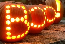 Pumpkin carving and Halloween decor ideas / by Ashley B