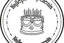 Etykietki urodzinowe