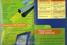 """Talang Metal Jakarta 081284559855 / TALANG METAL 081284559855,,087770337444  TALANG METAL """"exclusive"""" CV HARDA UTAMA Talang Metal (Water Gutter) Metal baja Untuk urusan Talang, Talang Metal yang satu ini puas pakai nya. Di banding kan dengan talang PVC, Talang Metal jauh lebih awet dan tahan lama. Aksesoris komplit dan pemasangannya mudah. CV.HARDA UTAMA """"melayani penjualan talang metal seluruh Indonesia"""""""