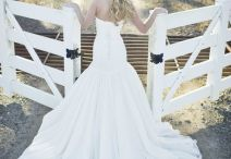 Wedding dress & rings