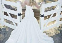 Wedding dress & rings