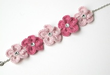 crochet jewellery / by Gillie Rhodes