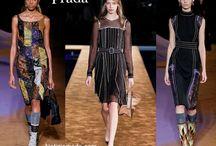 Prada / Prada collezione e catalogo primavera estate e autunno inverno abiti abbigliamento accessori scarpe borse sfilata donna.