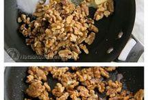 caramelize walnuts