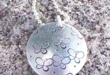 Miscarriage Jewelry / Memorial necklaces for mothers who have suffered the loss of a baby by miscarriage.