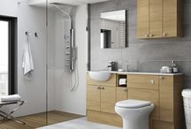 Our Bathrooms Collection / This collection offers nothing but simplicity in selection, planning and ordering.  It offers a straightforward choice of colours and finishes that are right on trend in sleek, clean and stylish modular arrangements and floorstanding fitted run combinations.