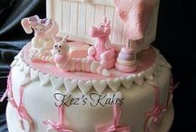 Торты для вечеринки по случаю рождения ребенка
