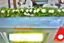 white&turquoise wedding