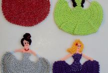 Mis  trabajos en crochet.