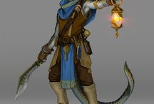 Character Art / Artworks and inspiration for characters