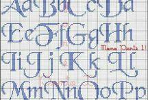 Γραμματοσειρές σταυροβελονιά