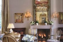 Decorating inspirations / My design inspiration is French Country...with a tad of elegant, shabby chic  / by Rebekah Hixon