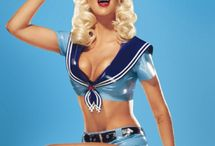 PIN-UP CELEBRITY INSPIRATION / Not photographed by Blackbird Photography