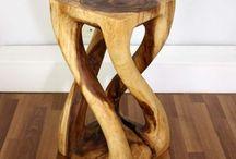 dreveni stolik