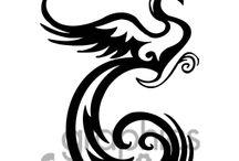 Patterns: phoenixes - Minták: Főnixek
