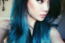 Fashion starts with hair color / hair color