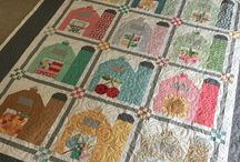 Heather Spence Designs / Amazing creative quilt designer and long arm quilter.