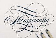 mean lettering