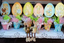 Easter decor / by Jane Scholten
