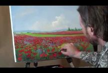 Paintng Wilh oils video