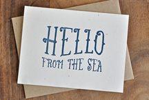   Huckleberry Press   / Letterpressed paper goods  / by Emily Sievert