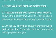 Jobbet och skrivandet