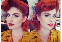 PIN UP AND VINTAGE HAIR