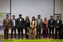 """Anti-Obesity Seminar for Pakistani Youth at UOL / Department of Pharmacy at the University of Lahore (UOL) has organized """"Anti-obesity"""" for Pakistani Youth Seminar in collaboration with Ferozesone's Laboratories on 26th November 2013 at 11:30 a.m. in Defence Road Campus. Prof. Dr. Shaila Anwar (Obstetrician & Gynecologist) and Dr. Farzeen Malik (Nutritionist) were the guest speakers."""