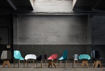 THE CHAIR / Steel chairs and stools designed by Gie El.