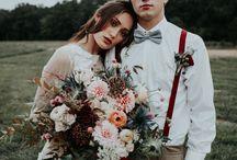 Fall Wedding Ideas / Fall wedding inspiration